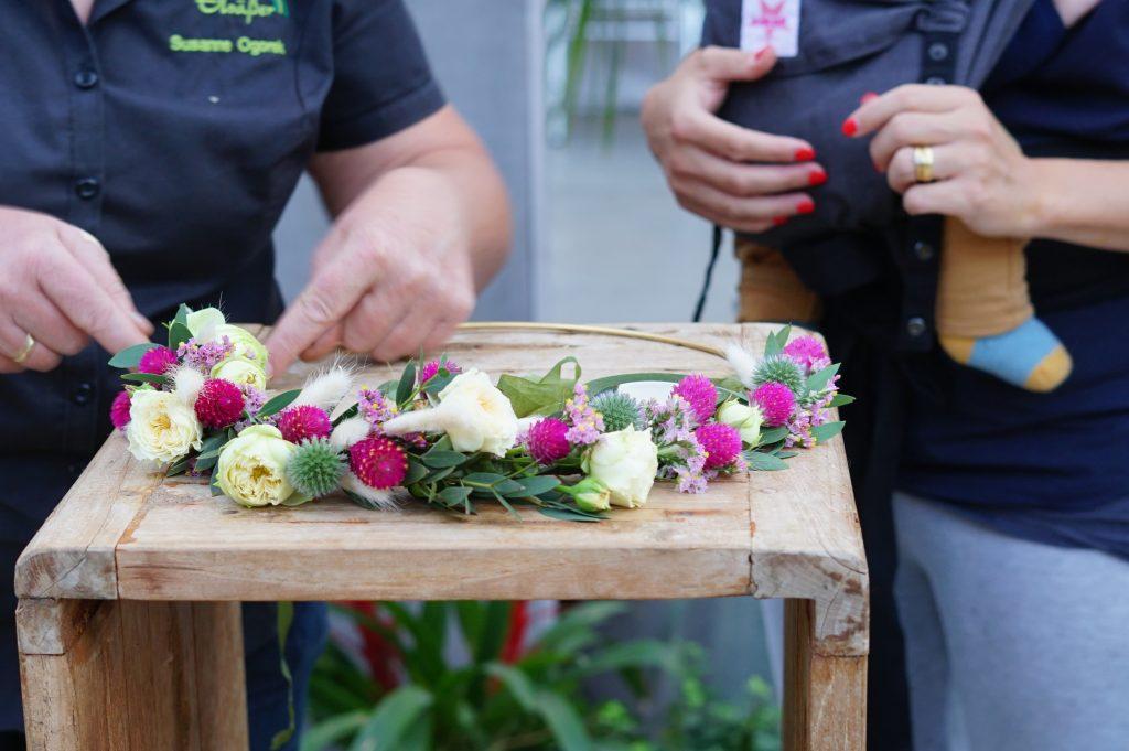 floristischer Flowerhoop